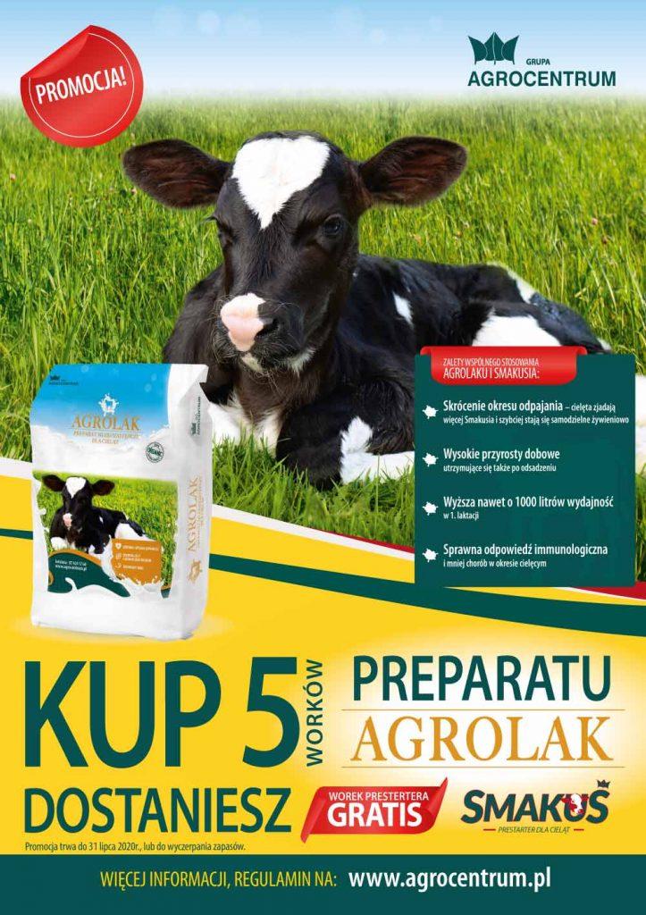 Preparaty mlekozastępcze Agrolak